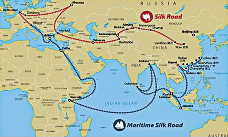 Cina E Giappone Cartina.Via Della Seta Mappa Investimenti Pro E Contro Tutto