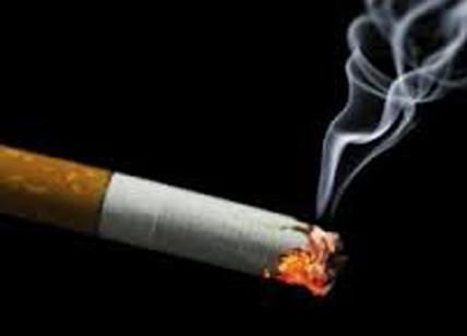 Fuma in auto davanti al figlio: multato
