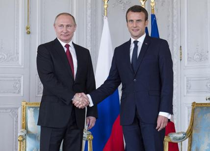 Siria, Macron a Putin: ok risposta ad armi chimiche