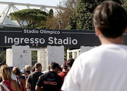 Stadio Olimpico, sabato sera il big match Roma Napoli