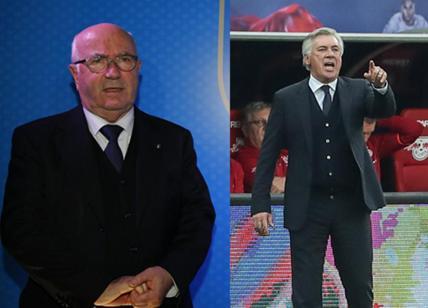 Italia, Ancelotti tentato dalla panchina azzurra ma chiede un rinnovamento dei vertici