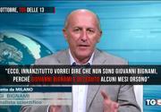 Luigi Bignami licenziato dal TG5 per aver corretto la giornalista in diretta
