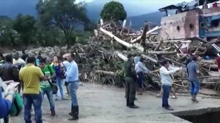 Frane in Colombia, 23 morti e centinaia di dispersi