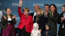Elezioni Germania, Merkel attacca oppositori a meeting Cdu-Csu