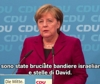 Merkel condanna le proteste anti-israeliane in Germania