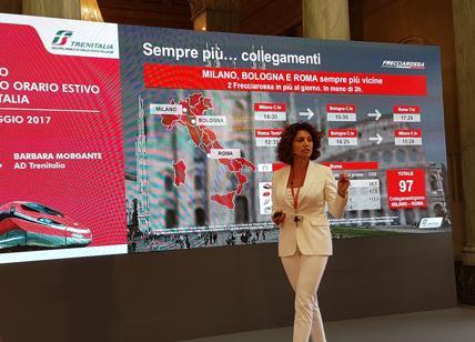 Trenitalia: in estate doppio Frecciarossa, supertreno da 900 posti