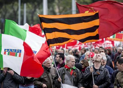 imperversa la dittatura finanziaria. e l`anpi manifesta contro il fascismo