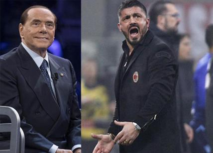 Berlusconi 'bacchetta' Yonghong Li e consiglia Gattuso