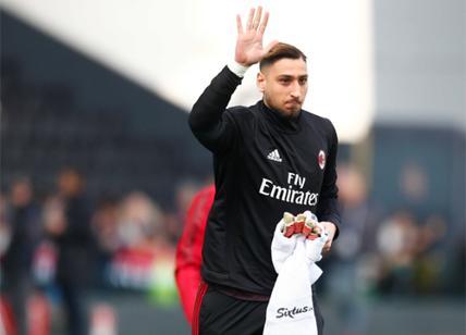 Donnarumma regala la maglia: pace con la Curva del Milan