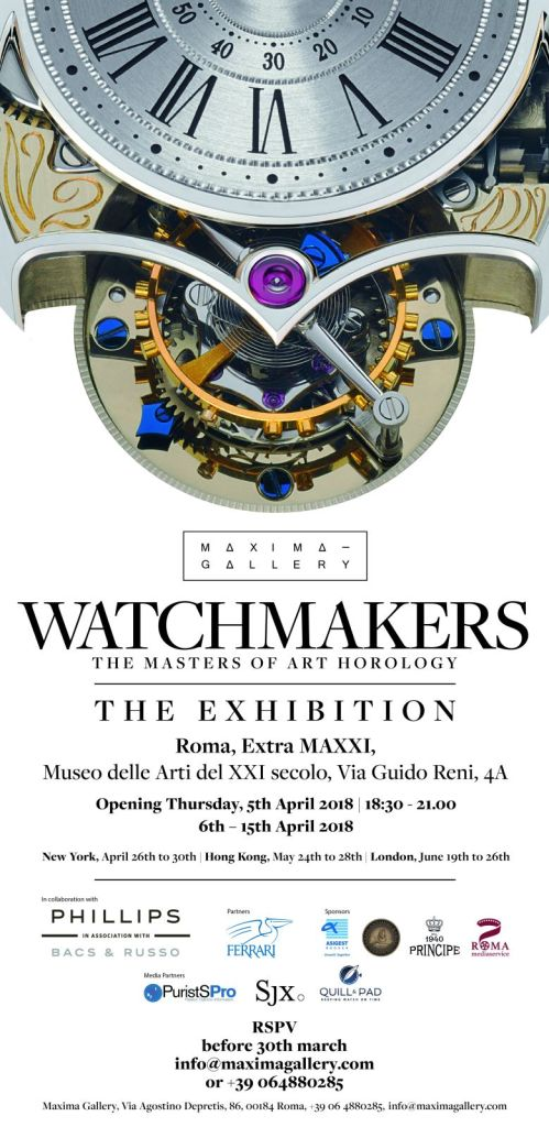 Invito Watchmakers   The Master of Art Horology