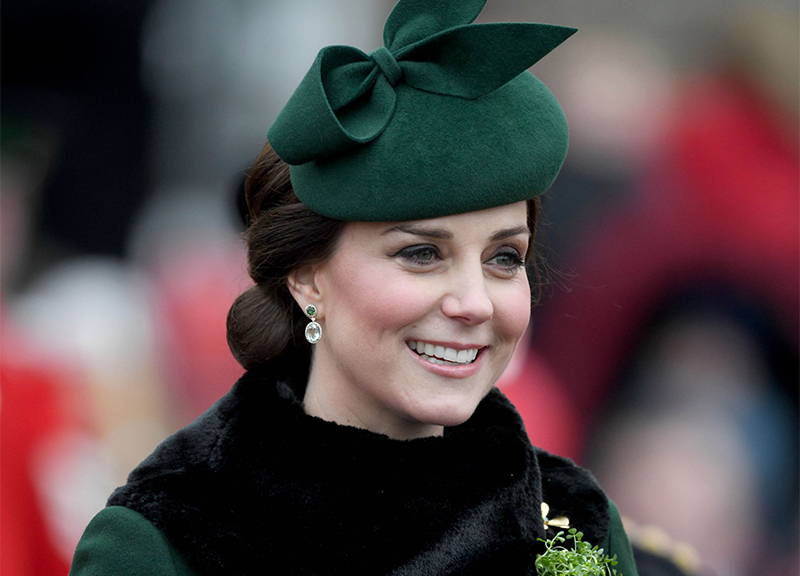 Kate Middleton, look primaverile per la duchessa di Cambridge