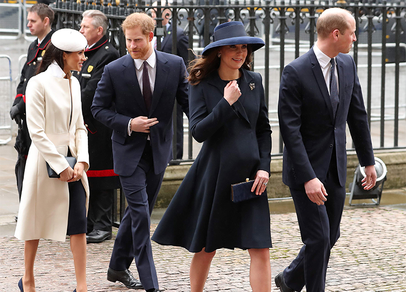 Meghan Markle harry william kate giornata Commonwealth ape