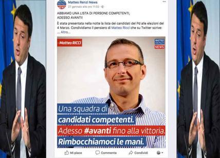 Elezioni 2018, Matteo Ricci e la gaffe del Pd.....