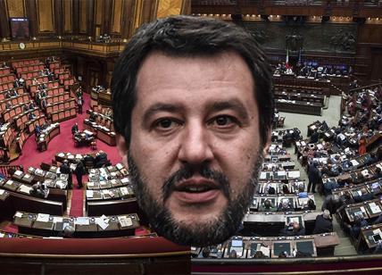 Salvini ad Arcore: adesso tocca a me con il centrodestra