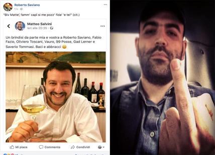 saviano shock : salvini amico della ndrangheta