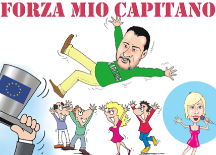 Salvini candida Bossi come capolista della Lega al Senato, a Varese