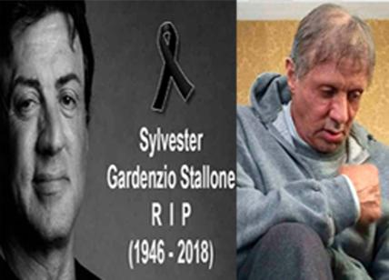 Sylvester Stallone è morto, le foto choc. Ma è una fake news