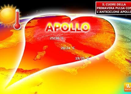 Previsioni meteo arriva l'anticiclone Apollo scoppia la primavera