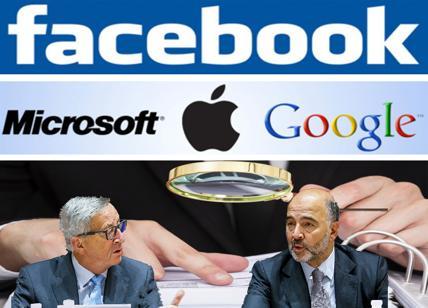 Ecofin UE, paradisi fiscali per Google e Facebook. Sanzioni per l'Italia