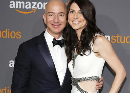 Amazon Jeff Bezos dopo il divorzio spunta già un nuovo amore