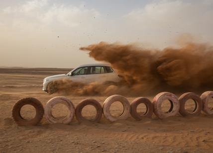 Nel deserto del Sahara è stato ricreato il circuito di Monza