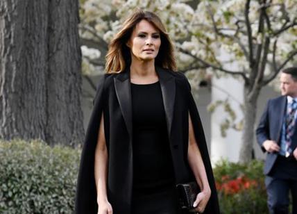 Melania Trump operata ad un rene per una