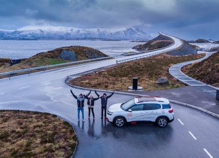 La Citroen C5 Aircross prosegue sulla mitica Atlantic Road