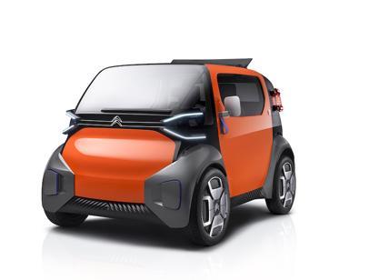 Citroen Ami One Concept, un cubo elettrico per la città