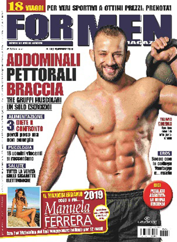 For Men Calendario.Manuela Ferrera Che Calendario Per For Men Magazine 2019
