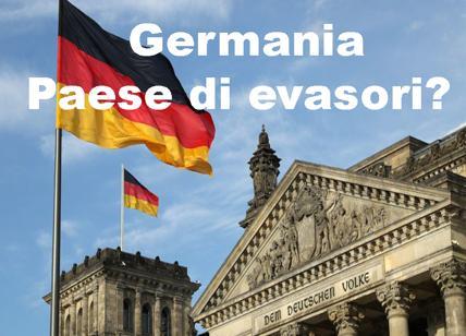Evasione fiscale: in Italia meno evasione che in Germania ma nessuno ne parla