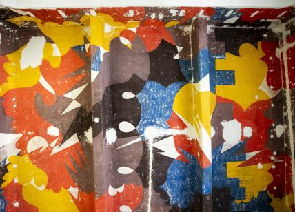 Capolavoro murale di Giacomo Balla torna alla luce dopo quasi un secolo
