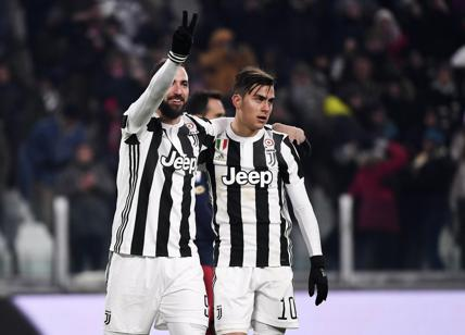 Juventus, chi sarà il sacrificato: Higuain o Dybala?