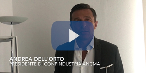 Intervista Andrea Dell'Orto Presidente di ANCMA video