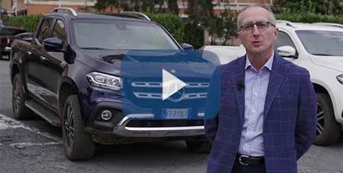Intervista Istituzionale Dario Albano Mercedes Classe X 350 d 4MATIC video