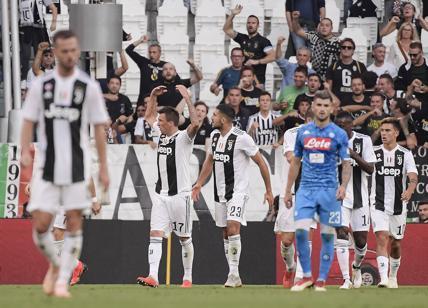 La Juventus ha battuto 3-1 il Napoli nell'anticipo di campionato