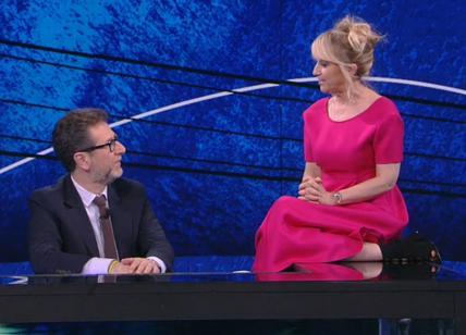 Ascolti Tv Auditel: Fazio doppia Giletti (con Corona), cala New Amsterdam