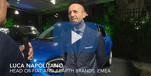 LUCA NAPOLITANO HEAD OF FIAT AND ABARTH BRANDS EMEA video
