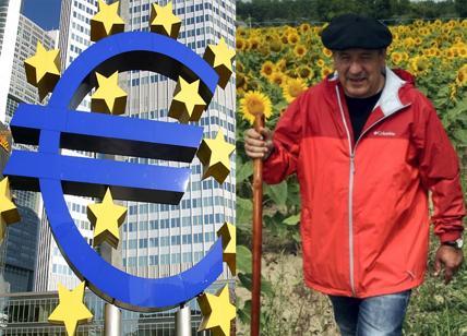 Debiti:agricoltore francese marcia contro suicidi.Nessuno ricorda gli italiani