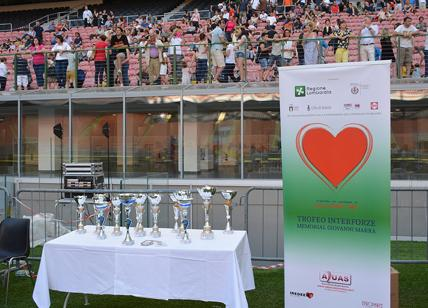 "Stadio San Siro, finale del ""Trofeo Interforze - Memorial Giovanni Marra"""