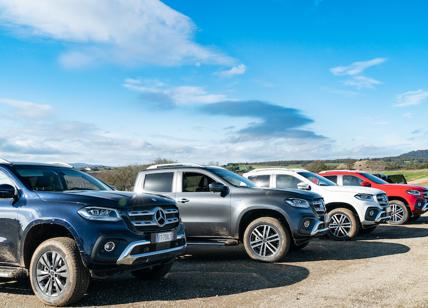 Mercedes ClasseX il pick-up nato per sorprendere