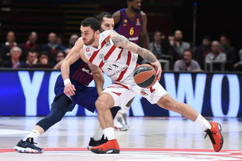 Olimpia Milano Mike James