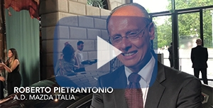 Porberto Pietrantono AD Mazda Italia video