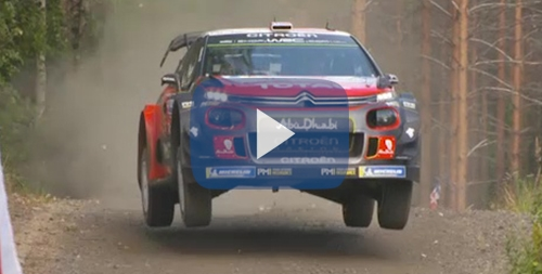Rally Finlandia Citroen C3 WRC video