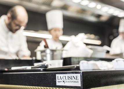La Credenza Stella Michelin : Ds automobiles firma la cucina di yannick alléno chef tre stelle