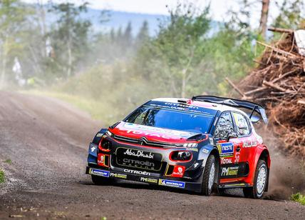 Rally Finlandia: il team Citroen in lizza per la vittoria