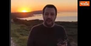 salvini tramonto video