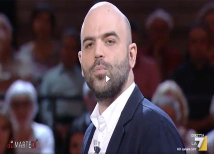 Saviano su immigrazione a Di Martedì, Floris. Retorica, fake news ed errori