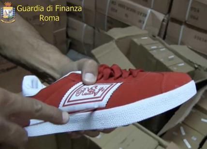 in stock 53edb 83647 Roma, invasione delle scarpe tarocche: sequestrate 75 mila ...