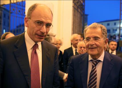 Enrico Letta torna al vertice del Pd e porta con sé Romano Prodi per il Colle