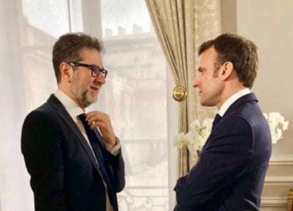 Giorgia Meloni 'detta' l'intervista di Fazio a Macron
